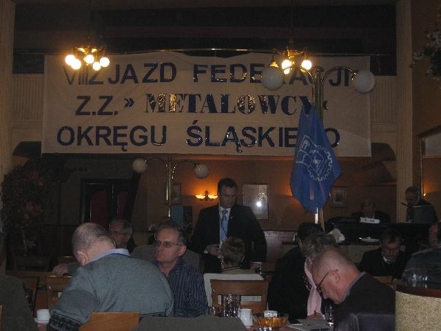 Konferencja sprawozdawczo – wyborca Okręgu Śląskiego