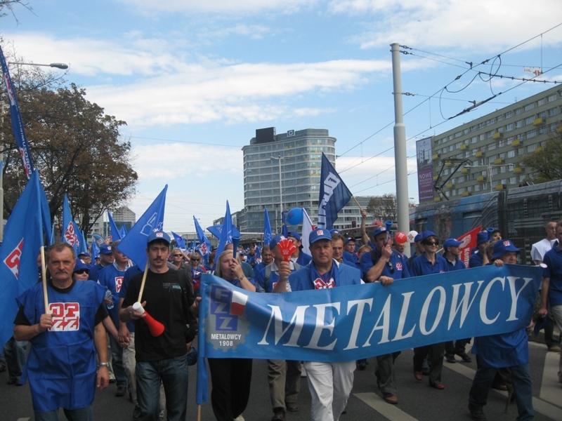 Euro manifestacja Wrocław 2011