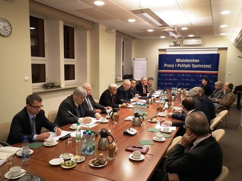 Posiedzenie Prezydium Trójstronnej Komisji 19.12.2012