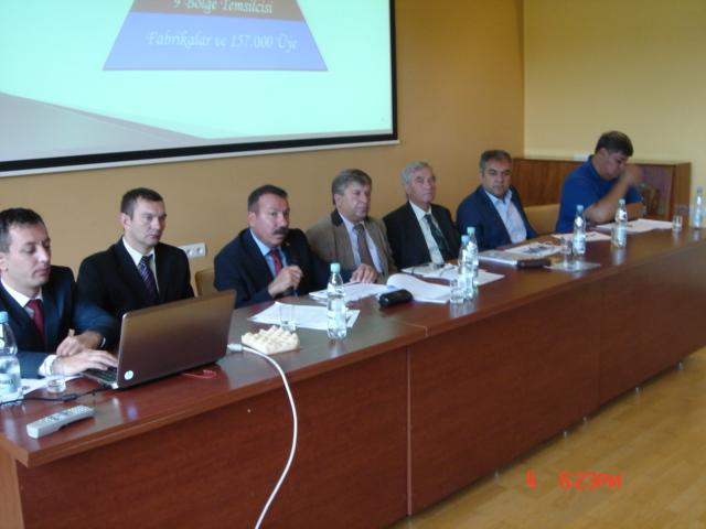 Międzynarodowa Konferencja z udziałem  Kolegów z Turk –Metal oraz IG-Metal