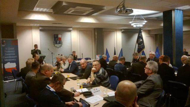 IX Zjazd Federacji Związków Zawodowych METALOWCY
