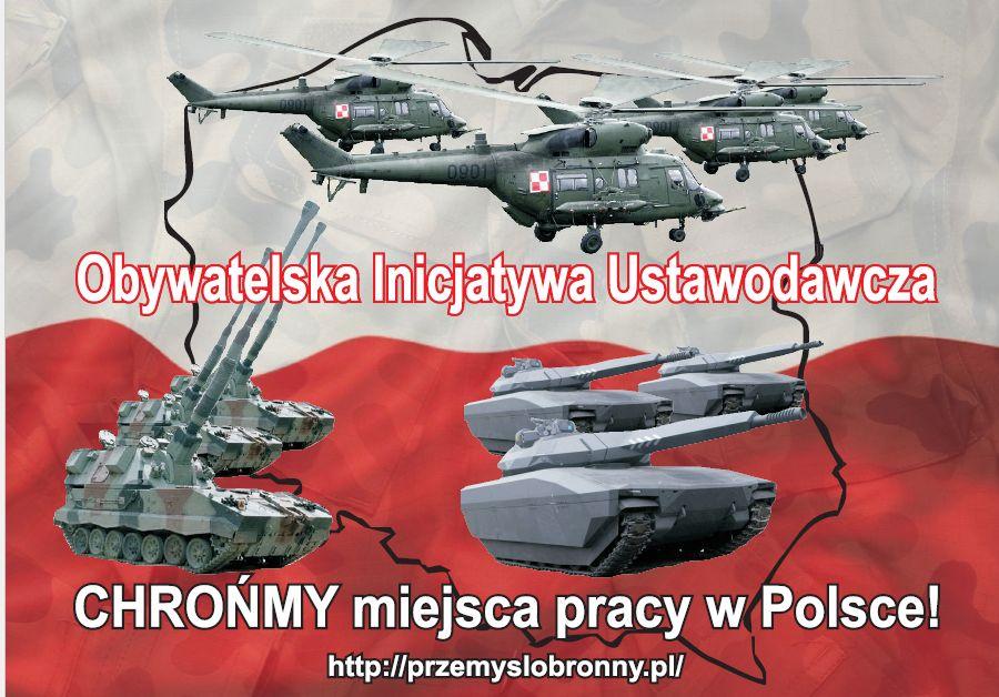 Obywatelski projekt ustawy o wzmocnieniu przemysłowego potencjału obronnego Rzeczpospolitej Polskiej