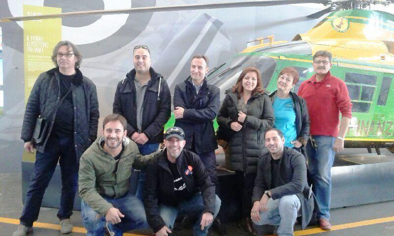 Wizyta studyjna w zakładach lotniczych w Varese