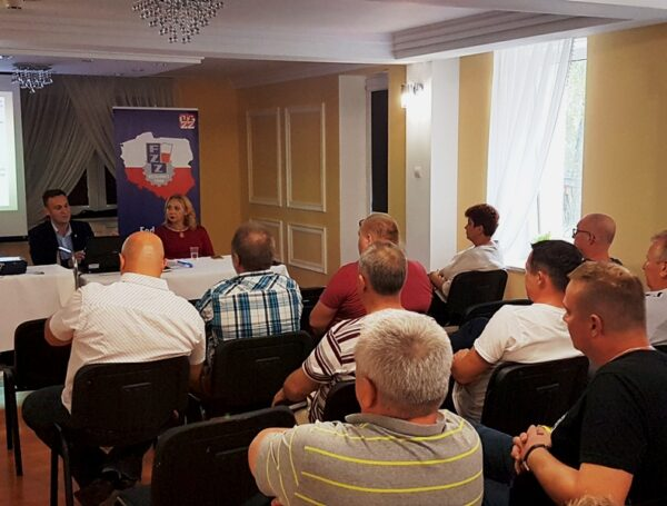 Spotkanie szkoleniowe Okręgu Warmińsko – Mazurskiego