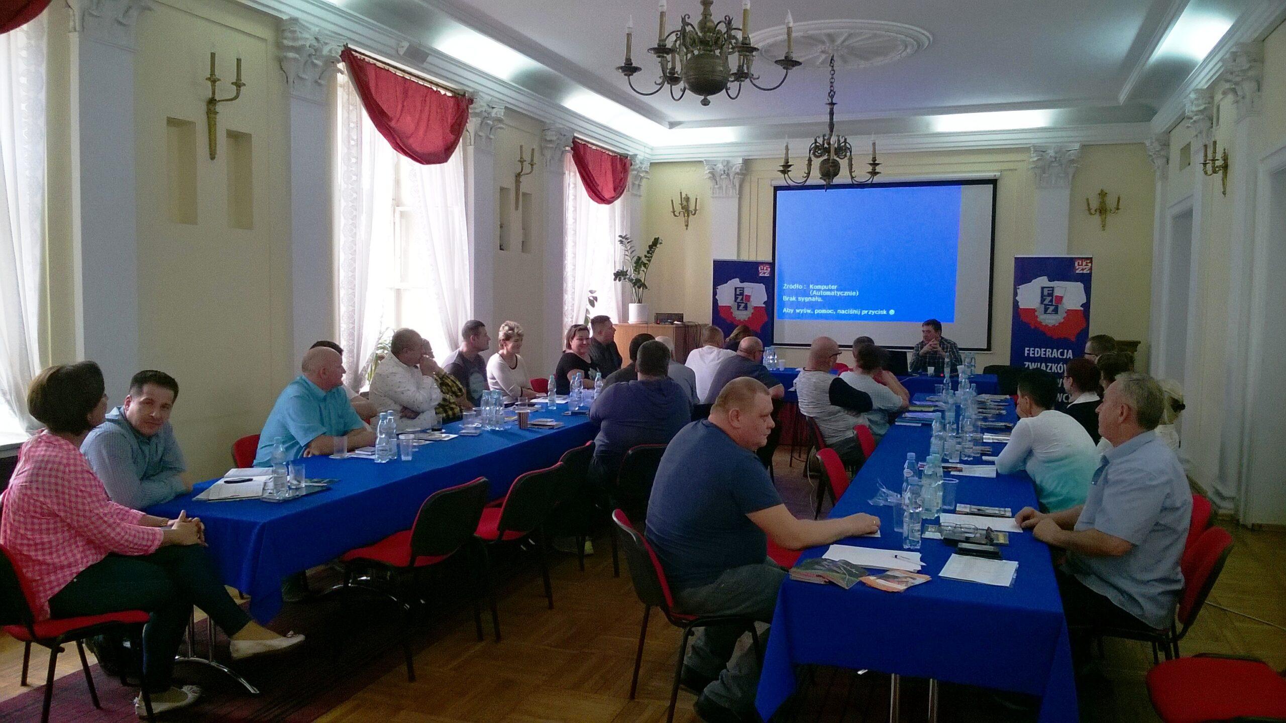Spotkanie Społecznych Inspektorów Pracy