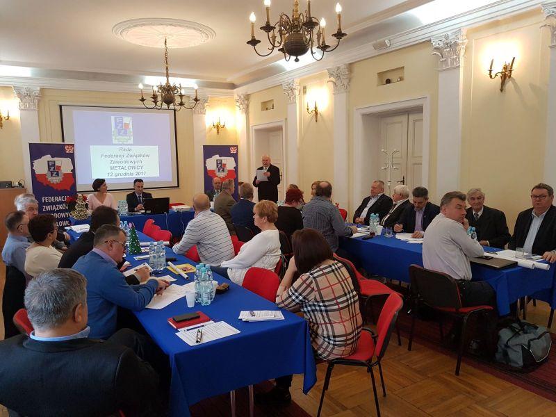 Rada Federacji Związków Zawodowych METALOWCY