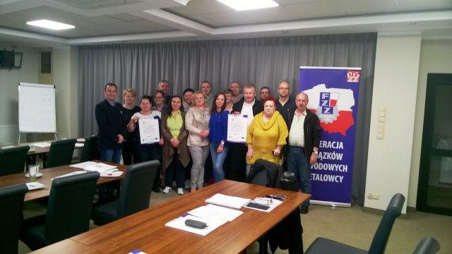 Szkolenie Rady Okręgu Kujawsko-pomorskiego
