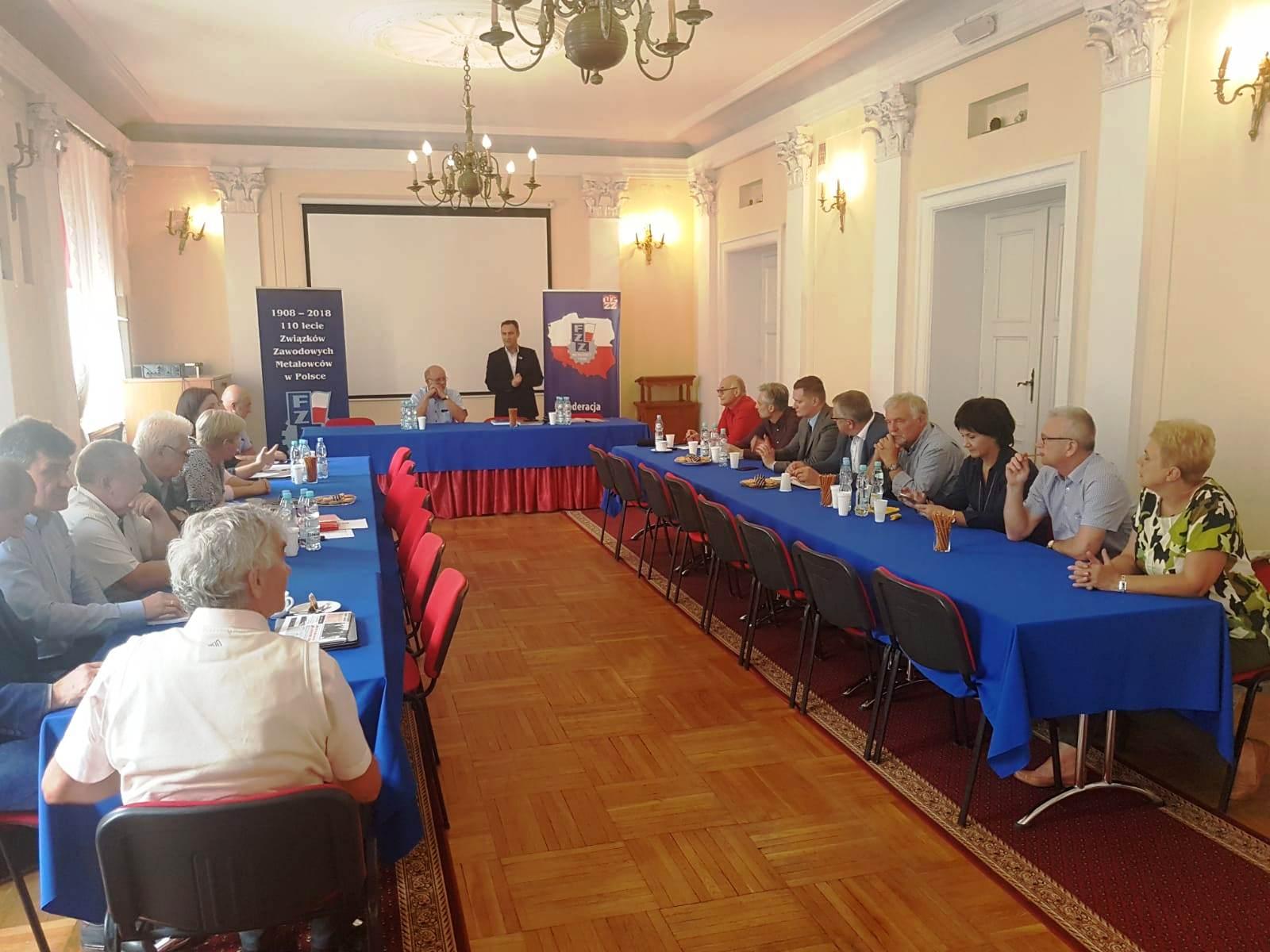 Spotkanie Rady Branży Przemysł OPZZ