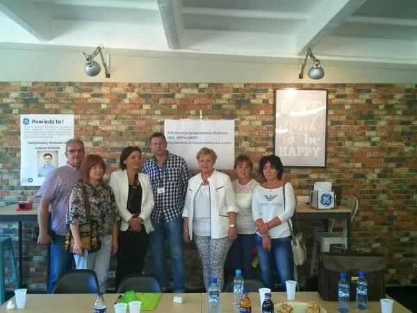 X Konferencja Sprawozdawczo-wyborcza NSZZ Metalowcy Pracowników GE Power Controls S.A. w Łodzi