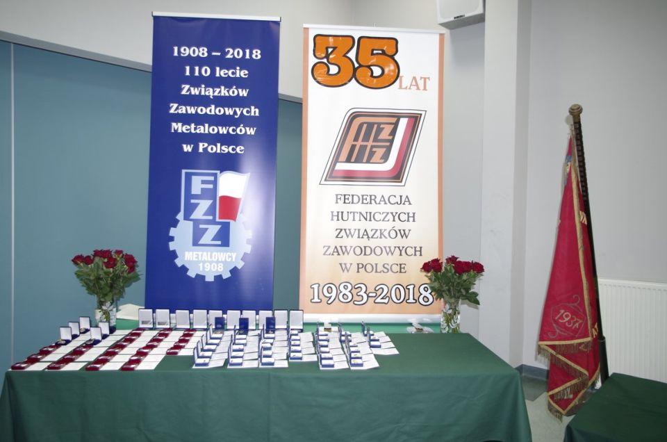 110-lecie Związków Związkowych Metalowców w Polsce
