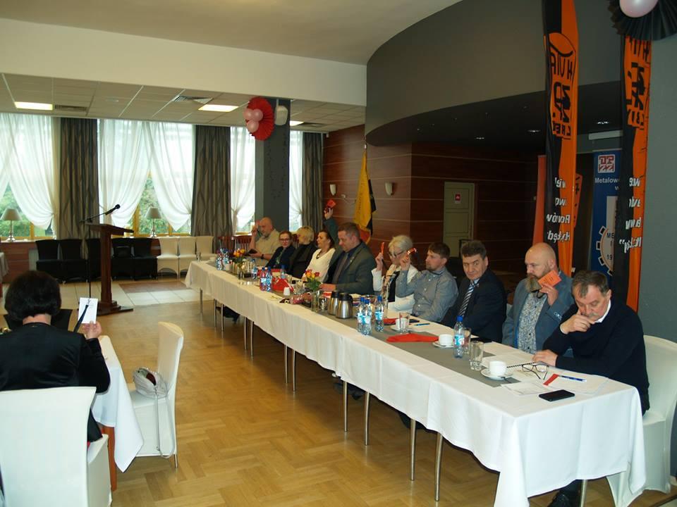 Walne Zebranie Delegatów ZZ Pracowników Huty Łabędy