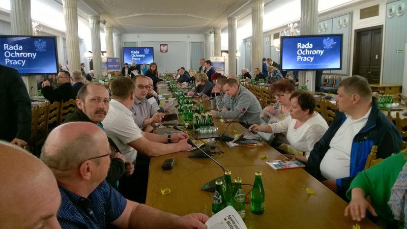Spotkanie szkoleniowe Społecznych Inspektorów Pracy