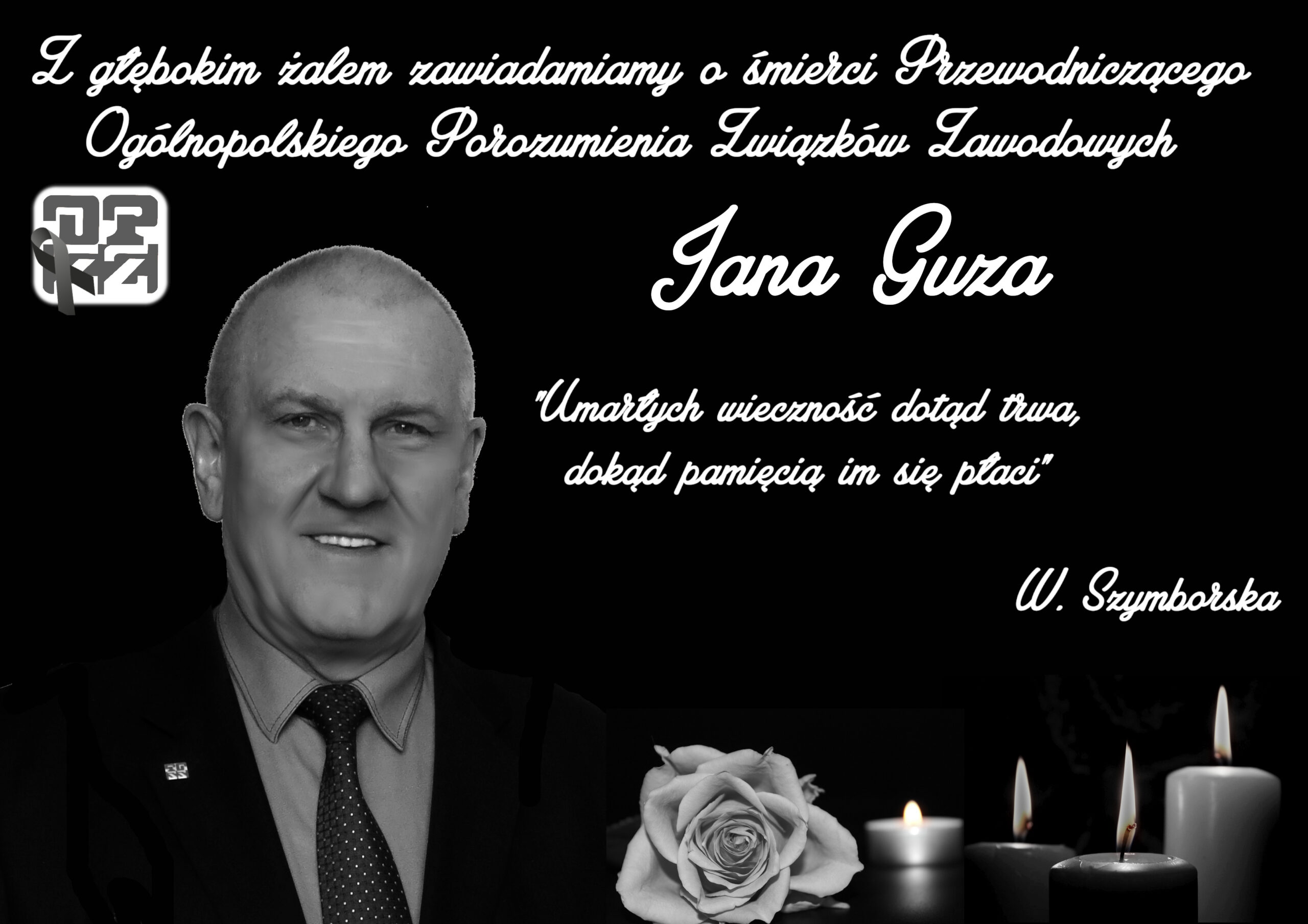 Zmarł Jan Guz
