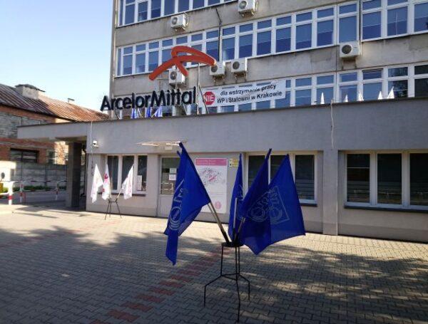 Okupacja budynku dyrekcji AMP w Krakowie