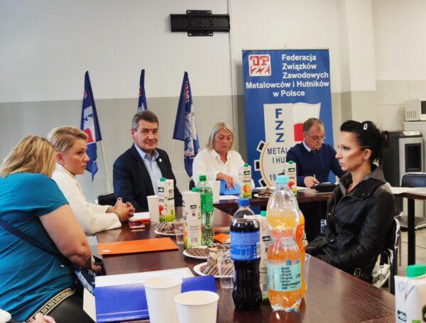"""Wybory władz ZZ """"Metalowcy Milmet-Timken"""" w Sosnowcu"""